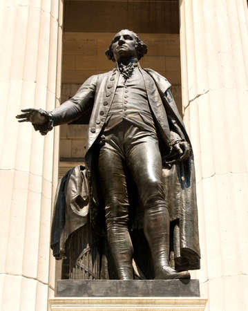 Statue of American first president