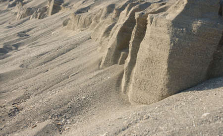 water shaping on sand