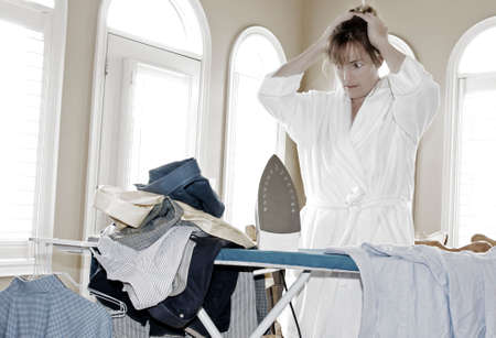 too much ironing to do