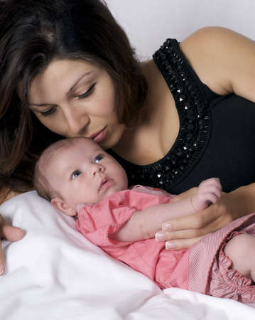mother and infant Stock Photo - 5319801