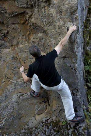 careless: rock climbing