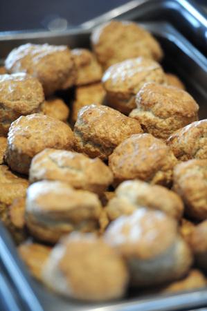 scones: Platter of scones