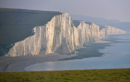 sussex: Chalk cliffs of the Seven Sisters, East Sussex