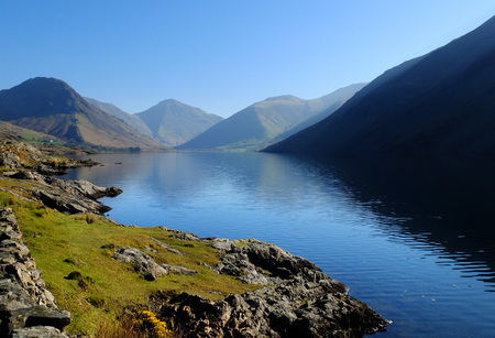 Wastwater (Wast Water) in the English Lake District