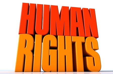 Human Rights Stock Photo