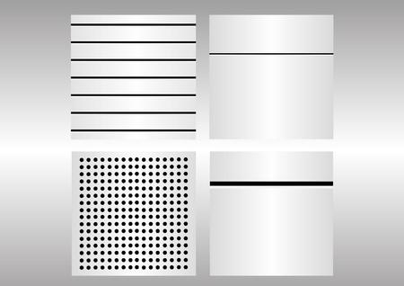 Metal textures Stock Vector - 21454291