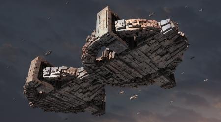 space invader: 3d UFO