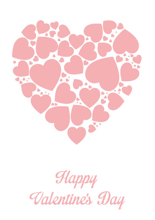 Framework for greeting or invitation for Valentine s Day photo