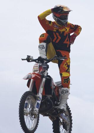 loco: Rider El loco Miralles  FMX Freestyle Extreme Barcelona 2014  Barcelona, Spain  29 june, 2014