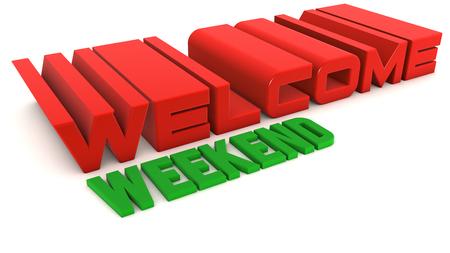 positiveness: Welcome weekend