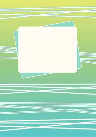 Tropical beach bar and paper banner for menu summer holidays Stock Photo