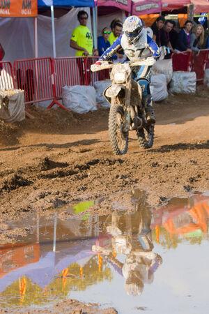 Driver Aleix Jorda Magrins.  JCC COMPETICIO Team. International 24 hours resistance Vall del Tenes. Barcelona, Spain. 07 September 2014