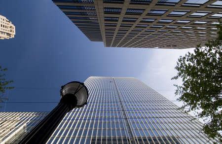 背の高い建物 写真素材