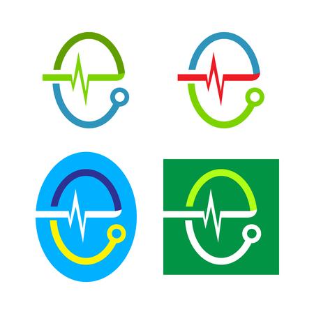 medical occupation: Medical Logo Inspiration (Letter E)
