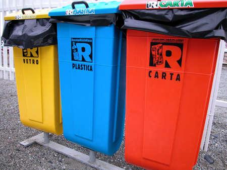 Ecological trash Stock Photo