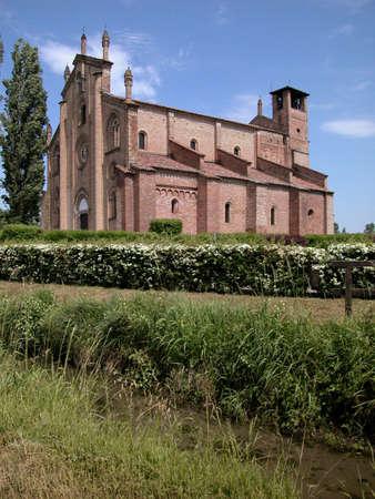 Church of XII Apostles San Bassiano located in Lodi Vecchio, Italy