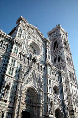 Dome and Giotto bell tower in Florence, Italy Stock Photo - 5162261