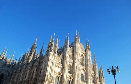 The Duomo, gothic cathedral of Milan, Lombardy, Italy Stock Photo - 8622743