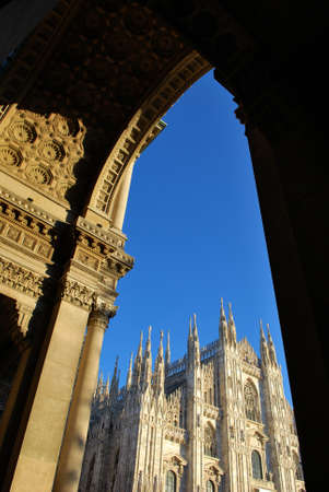 The Duomo, gothic cathedral of Milan, Lombardy, Italy Stock Photo - 8622753