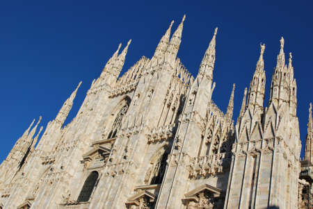 The Duomo, gothic cathedral of Milan, Lombardy, Italy Stock Photo - 8622820
