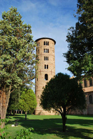 St. Apollinare in Classe round tower, Ravenna, Italy