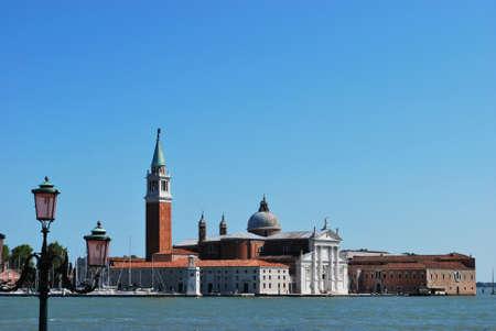 St. George island and church, Venice, Italy