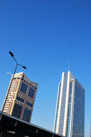 garibaldi: Garibaldi towers, skyscrapers at Garibaldi railway station, Milan, Italy