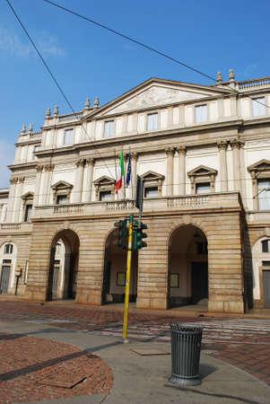 scala: World famous Scala theater, Milan, Italy