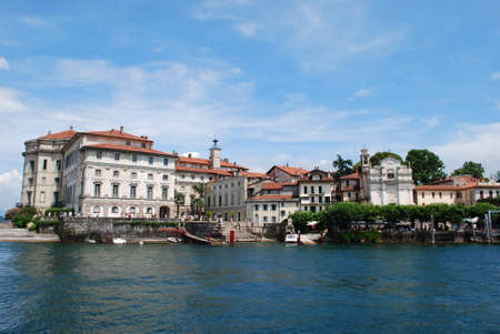 Isola Bella, Borromean Island on Maggiore lake, Stresa, Italy photo