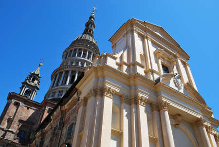 St  Gaudenzio basilica church and dome, Novara, Piedmont, Italy