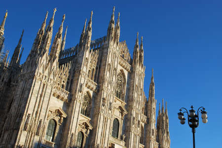 Gothic cathedral of Milan, Lombardy, Italy Stock Photo - 13404877