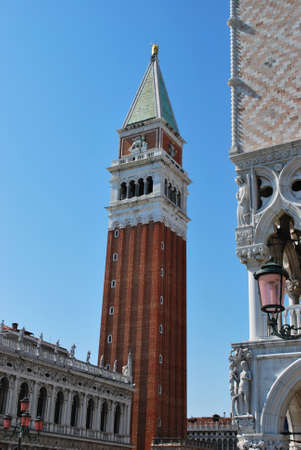 Famous St  Mark tower bell, Venice, Italy Stock Photo - 13501227