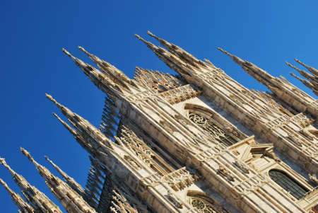 The Duomo, gothic cathedral of Milan, Lombardy, Italy Stock Photo - 15829968