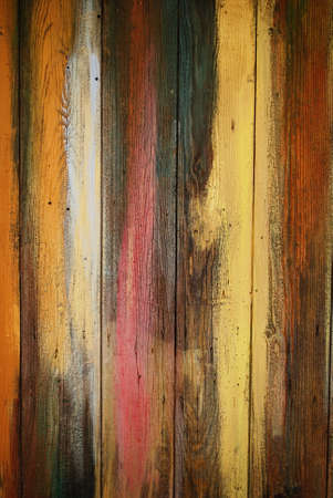 Vintage grunge colorful wood wall texture background  Stock Photo - 16767776