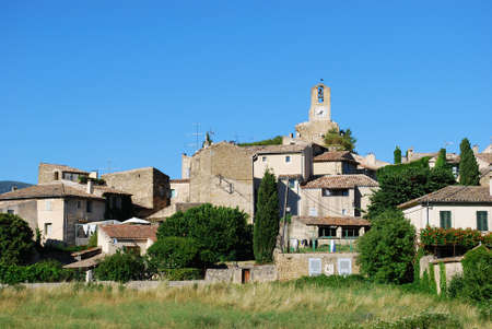Ancient village of Lourmarin, Vaucluse department, Provence, France