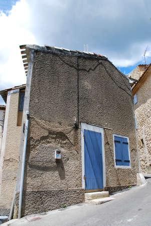lourmarin: Typical stone house, Lourmarin village, Vaucluse, Provence, France  Editorial