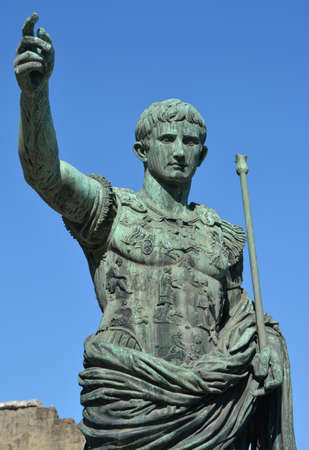 augustus: Augustus, the first emperor of Rome Stock Photo
