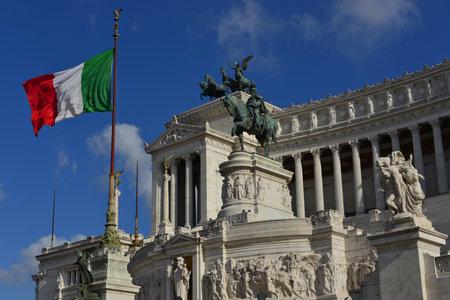 risorgimento: The symbol of italian nation in the centre of Rome