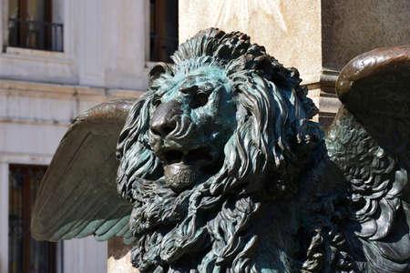 leon con alas: El s�mbolo del le�n alado de la Seren�sima Rep�blica de Venecia