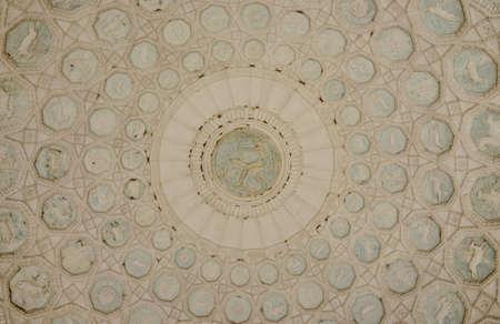 villa borghese: Small round temple in Villa Borghese park in Rome Stock Photo