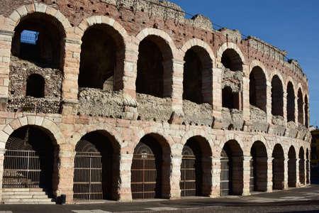 roman amphitheater: The famous roman amphitheater in the center of Verona, Italy