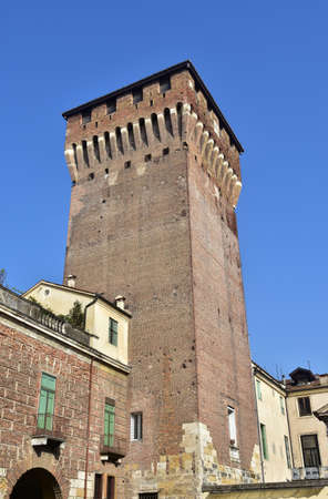 surviving: Castle Gate Tower, an imposing medieval tower over Vicenza main gate, the last surviving part of an ancient castle