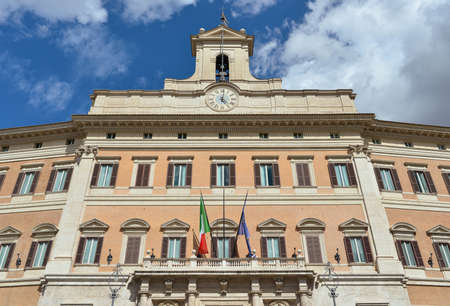 italian politics: Italian Chamber of Deputies (Parliament) in Rome, designed by the famous baroque architect Carlo Fontana in the 16th century Editorial