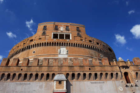 Castel SantAngelo (Castle of Holy angel) renaissance keep, in the center of Rome