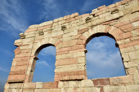 surviving: The Wing, the last surviving part of Verona Arena outer ring