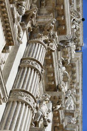 L'architecture classique et baroque de l'église Saint-Moïse à Venise, complétée en 1668