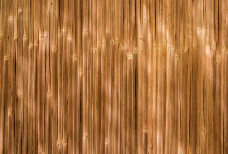 Yellow and brownish cane wall as background Reklamní fotografie - 120740257