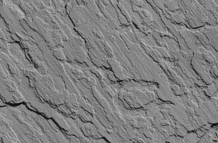 Gray concrete wall with a rough surface as background (Black and White)