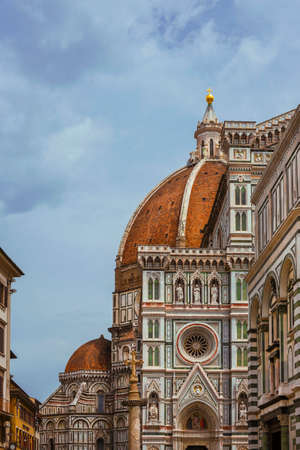 Florence Cathedral St Mary of the Flower and St John Baptistery wonderful medieval and renaissance architecture