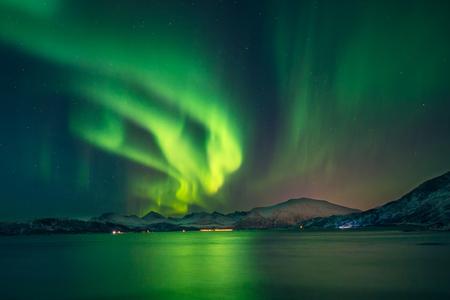 Noorderlicht Stockfoto